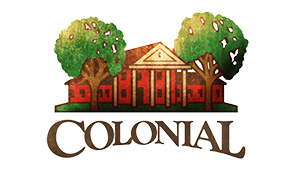 colonial country club branding