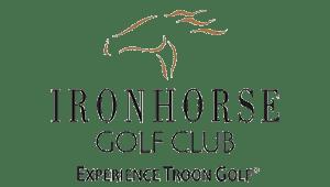 iron horse golf club branding