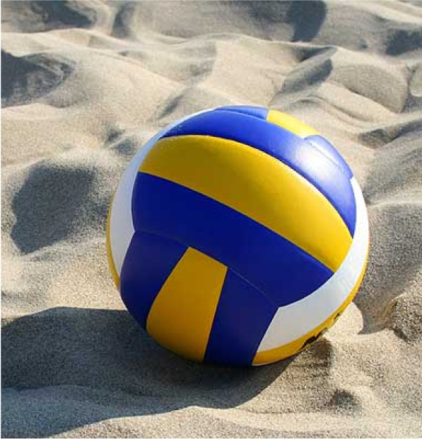 vollyeball on sand court