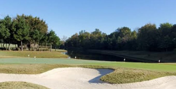 premier sand in bunker at the links at fayetteville golf course